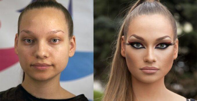 maquiagem e transformação