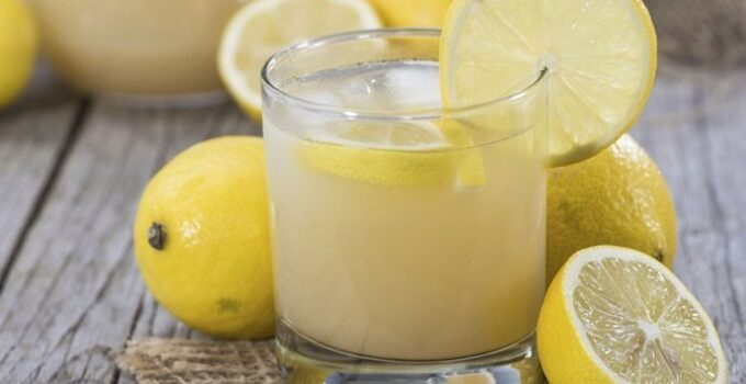 Limão com bicarbonato