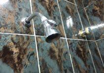 limpar o chuveiro