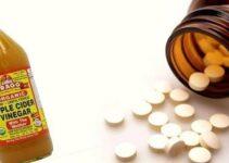 Medicamentos e Vinagre de Maçã.