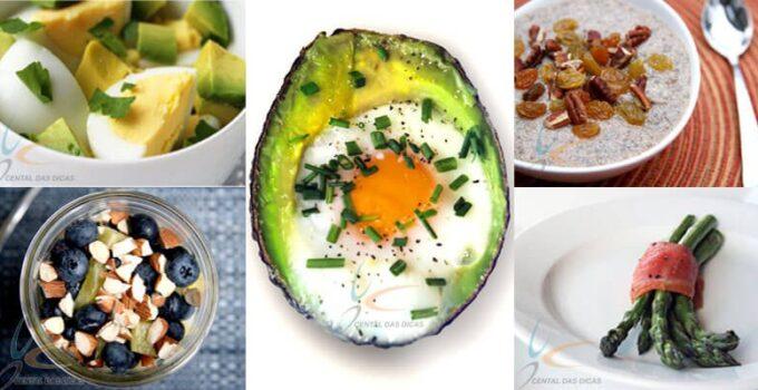 Receitas de Café da manhã para perder peso