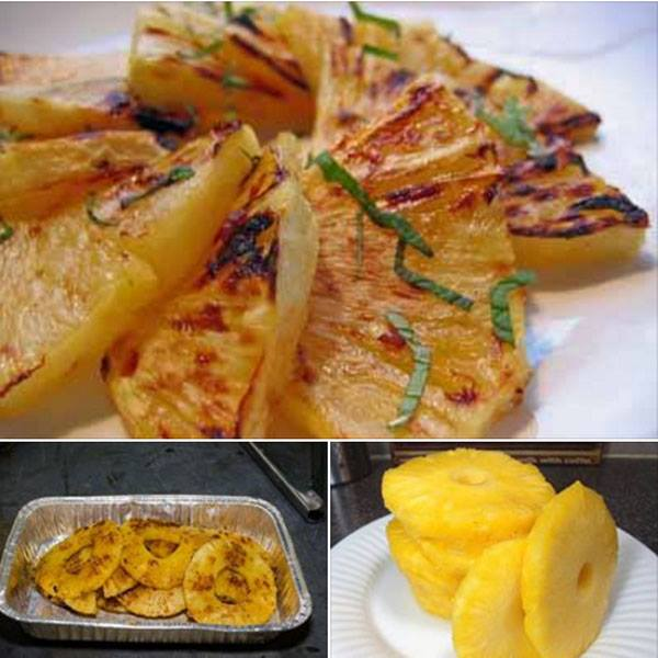 abacaxi ao forno