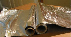 papel de alumínio