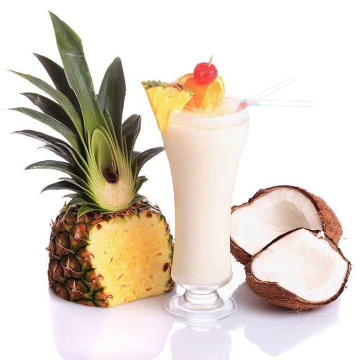 shake de abacaxi